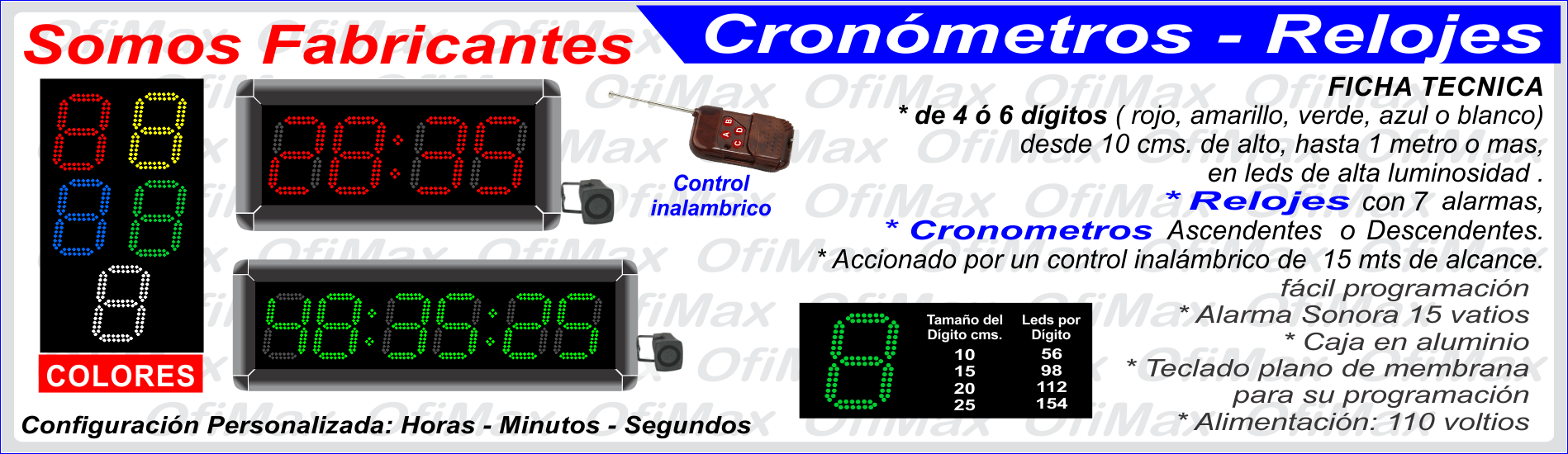 29fc13eada68 fabrica de Relojes y Cronometros industriales