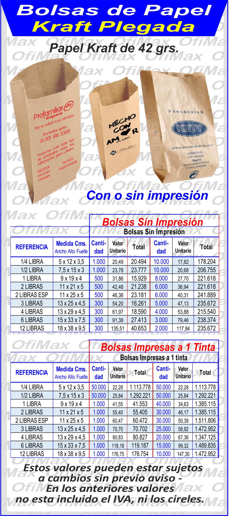 apariencia estética precio limitado más cerca de fabrica de Bolsas y empaques de papel, Bolsas de papel ...
