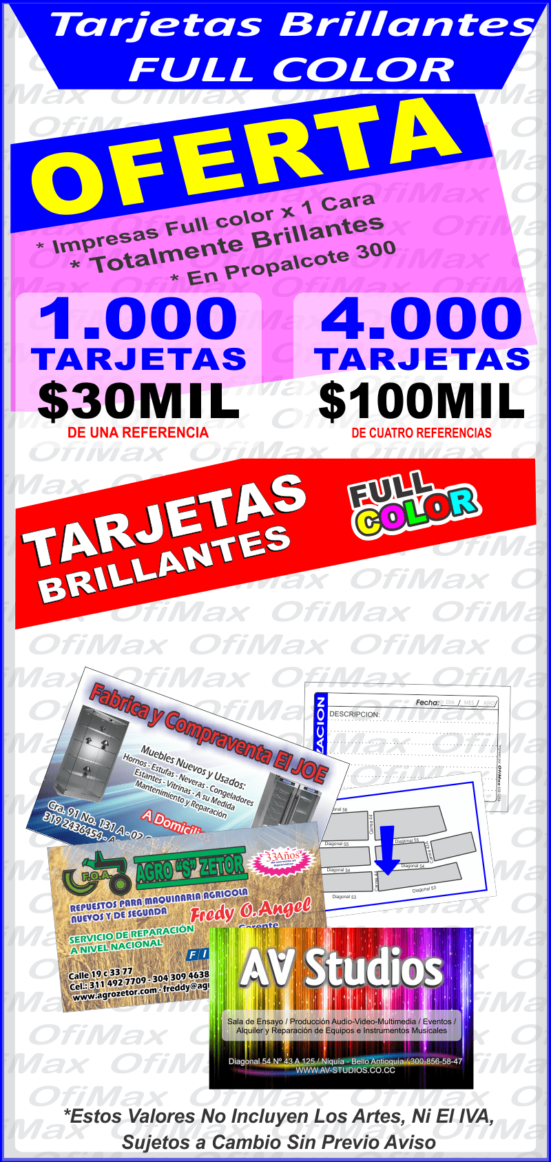 Tarjetas De Presentacion Tarjetas De Presentacion